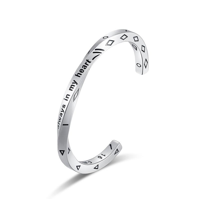 Bracelet Minimaliste acier inoxydable rétro Viking  1
