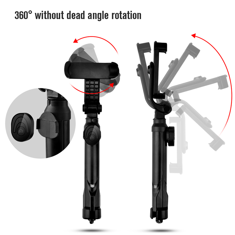 Oppselve 3 in 1 Bluetooth Selfie Stick Tripod Extendable Monopod Universal For iPhone XR X 7 8 6 S For Samsung For Huawei Tripod in Selfie Sticks from Consumer Electronics