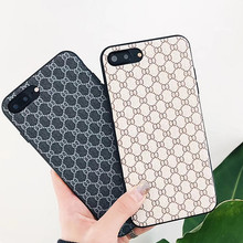 new arrival high fashion Classical Plaid pattern cover for apple iphone 6 6s plus 7 7P 8 8P X soft mobile phone Case capa