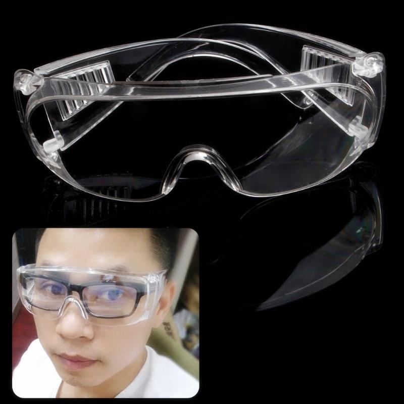 Новые прозрачные вентилируемые защитные очки для глаз, защитные лабораторные противотуманные очки