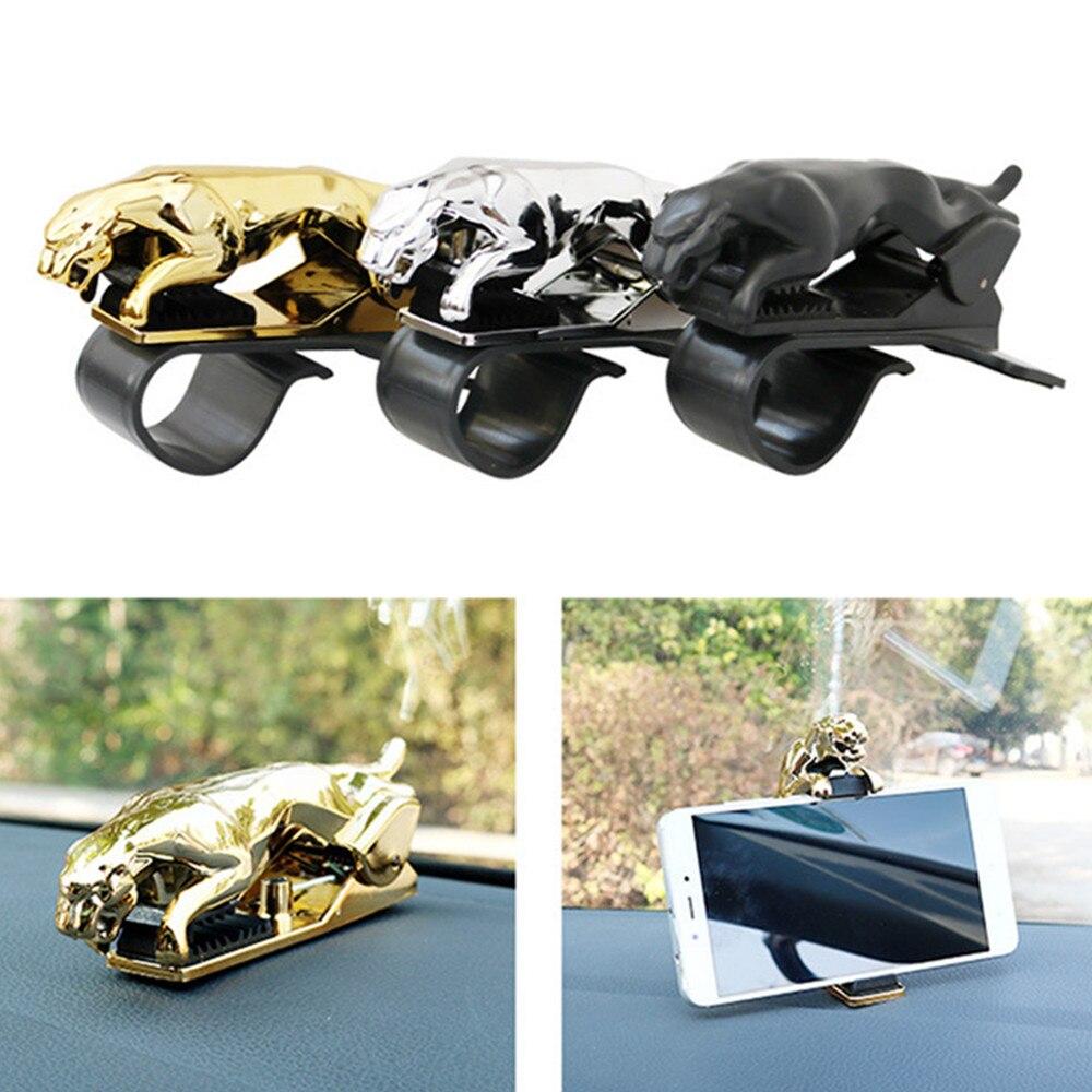 Car leopard phone clip holder 3