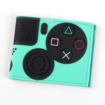 Game Handle Playstation wallet  3D Touch and super cool Men Wallets PVC Purse  Bi-Fold 10
