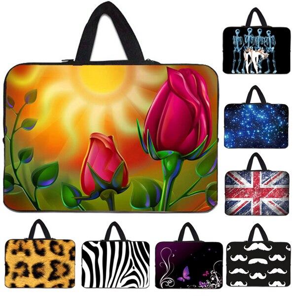 Последней моде женщины сумку для ноутбука 13.3 15.4 15.6 12.1 11.6 7.7 7.9 14 17 дюймов компьютерная сумка ultrabook ноутбук PC tablet bolsa мешки