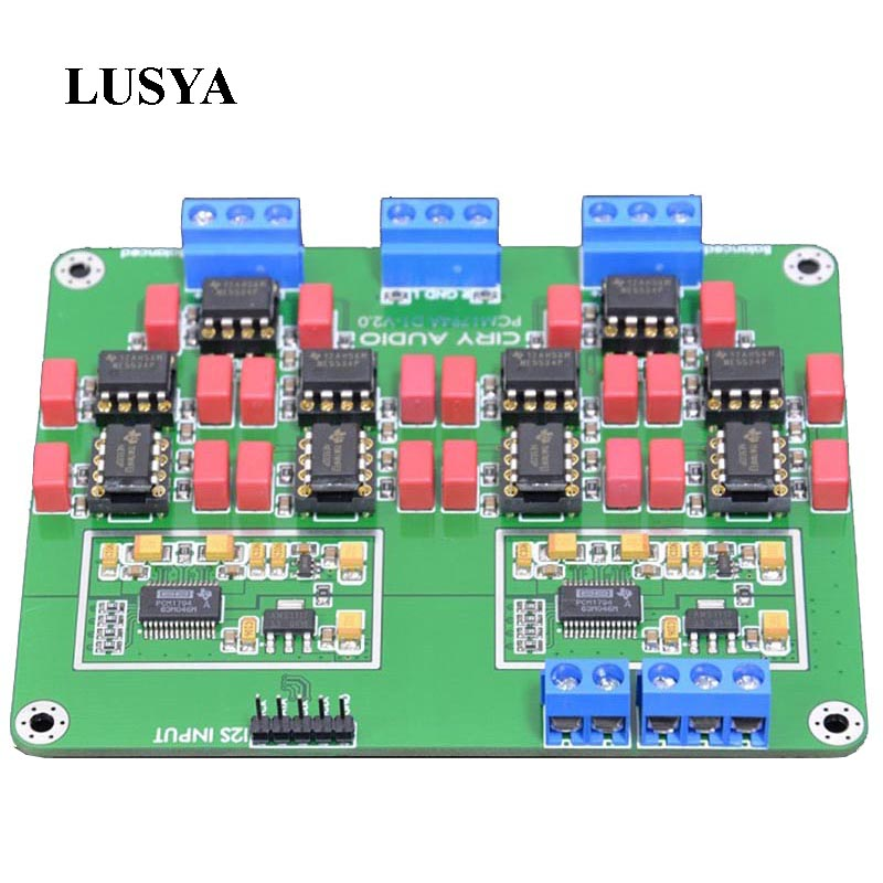все цены на Lusya (Booking) Latest Hi-Fi Parallel PCM1794A DAC Audio Decoder Assembled Board 24Bit 192kHz