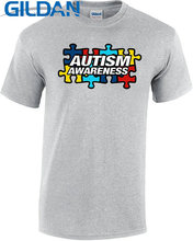 Family T Shirts  Men'S Crew Neck Print Short Personal Autism Awareness Month Fight Tee self awareness and personal development
