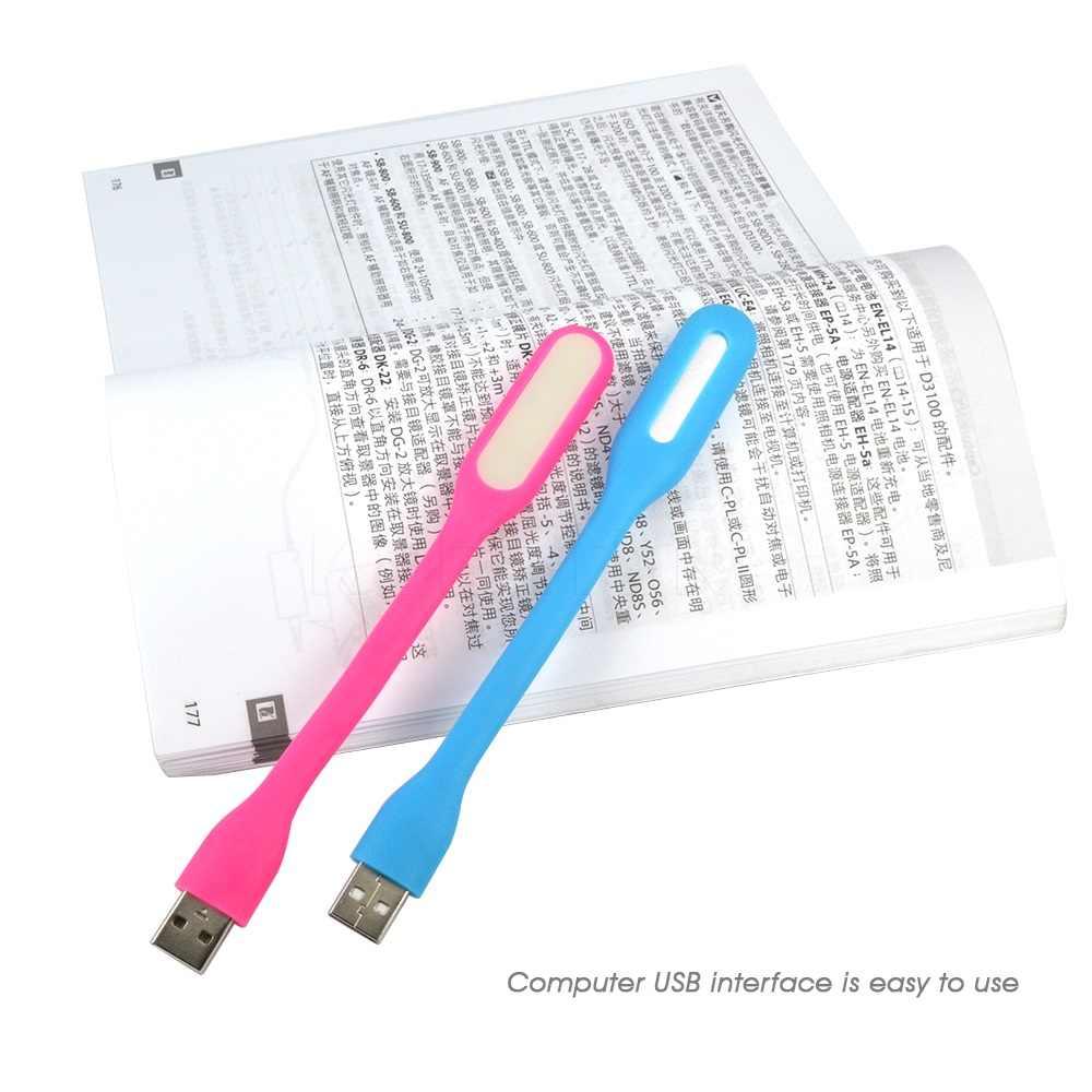 LED en plein air Camping veilleuse économie d'énergie lampe USB lampe à LED Mini 360 degrés rotation pour PC Mobile puissance luminaria ordinateur