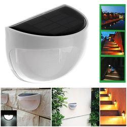 Waterproof 6 led solar lamp outdoor garden decoration solar power panel landscape lawn fence gutter wall.jpg 250x250