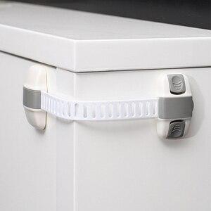 Image 3 - 20ピース/ロットベビーキッズ子供校正ホームセキュリティ安全キャビネット冷蔵庫引き出し食器棚ボックス冷蔵庫のドアロック