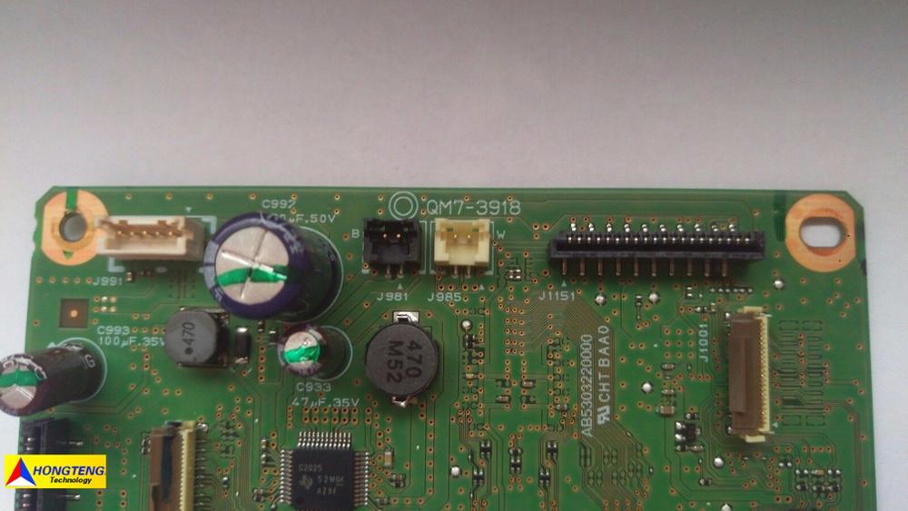 Main Logic Main Board Motherboard QM7-3918 For Canon Pixma MG6620 MG6650 Test OK Free Shipping