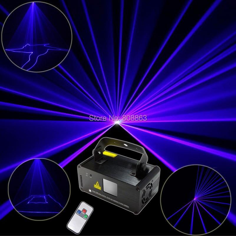 Blue Laser 150 Stage Lighting Line Scanner Beam DMX512 Effect Light DJ Disco Party Xmas Lights Show Remote Digital Display D70