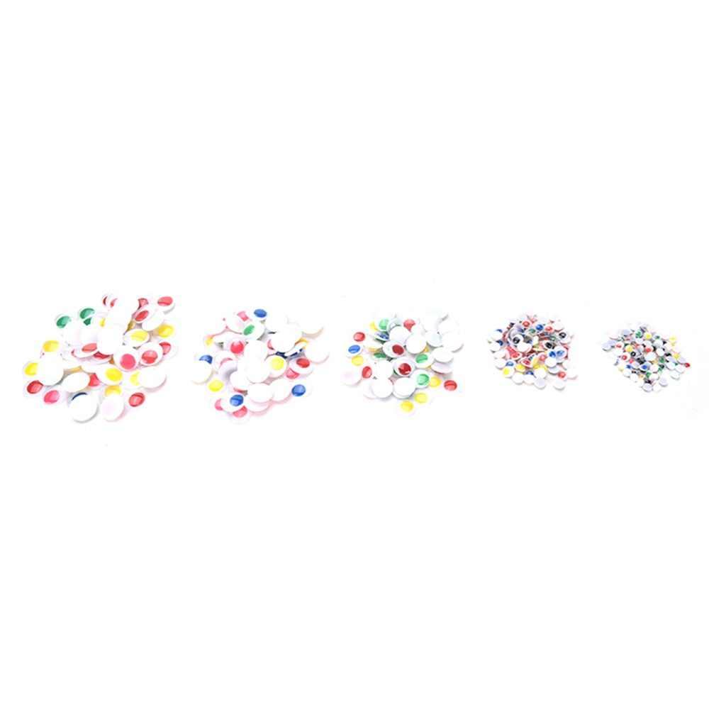 100 قطعة/المجموعة البلاستيك 6 مللي متر/8 مللي متر/15 مللي متر دمى تذبذب Googly عيون توريد Diy سكرابوكينغ الحرف