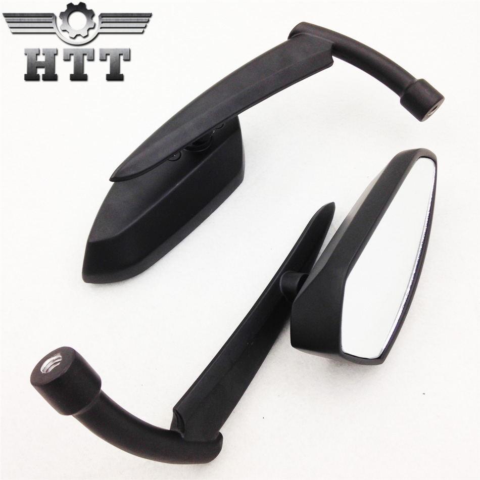 Aftermarket free shipping motorcycle parts black Spear Blade mirrors fit for Savage Intruder Volusia Boulevard
