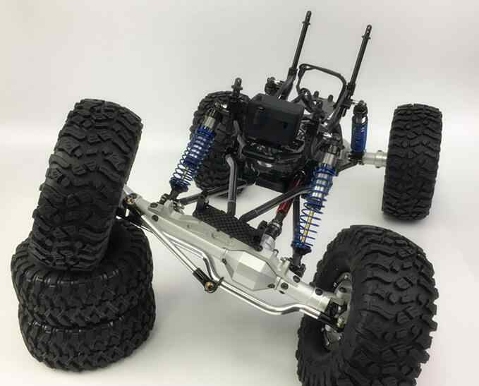 Detail Feedback Questions about 1/10 Scale RC Cralwer 4x4 CNC FRAME