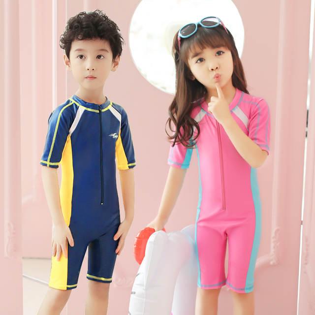 1d0b082061 placeholder Child Swimwear One Piece Boys Girls Swimsuits Kids Bathing  Suits Baby Swimsuit Girl Children Beach Wear