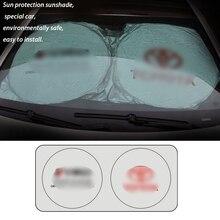 Лобовое стекло автомобиля Защитные солнцезащитные очки Мороз щит автомобиля для Toyota Чехлы солнцезащитный автомобильный передний оконный экран крышка