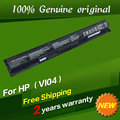 Bateria do laptop original para hp pavilion 17 15 envy 15-k028tx k031tx k032tx vi04 hstnn-db6i hstnn-db6k tpn-q140 tpn-q141 tpn-q144