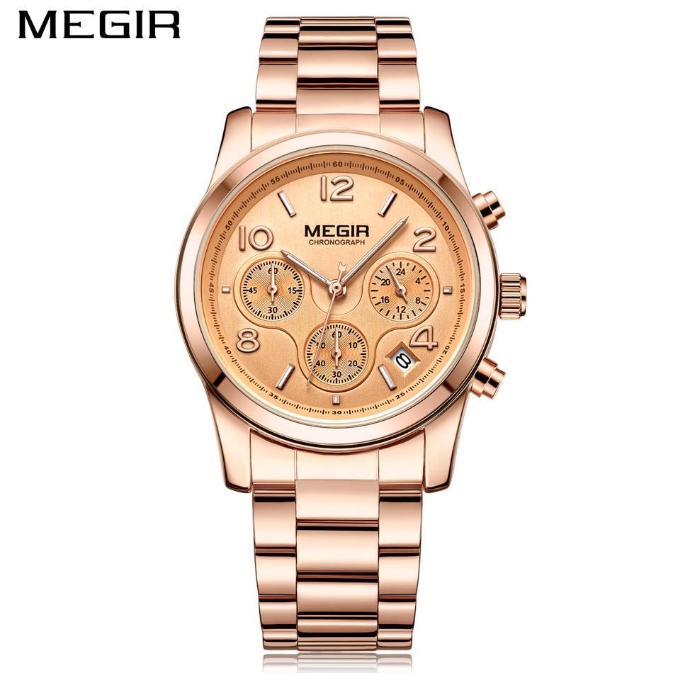 Tops Πολυτελή Μάρκα MEGIR Γυναίκες Casual - Ανδρικά ρολόγια - Φωτογραφία 2