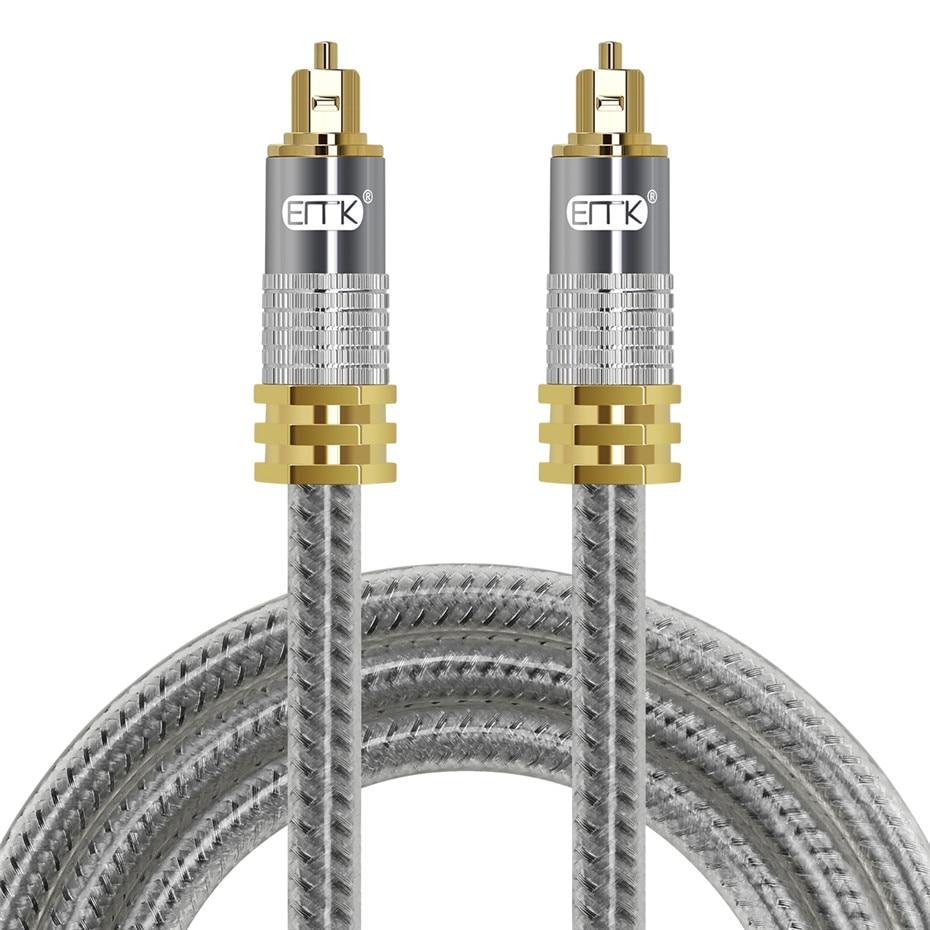 11 Top Grade OD8.0mm Spdif Optical Cable Gold Connector Digital Fiber Optical Toslink Audio cable 1m 1.5m 2m 3m 5m (11)