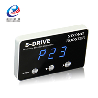 Car Strong Booster Sprint booster Auto Throttle controller for mazda 3 with Silver frame black panel blue LED digital display|controller control|control throttlecontroller led -