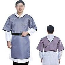 0,35 mmpb Свинцовые резиновые медицинские одежды, рентгеновская Защитная Радиационная одежда, больничная хирургическая анти-одевать