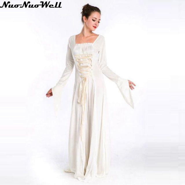 Weiß Arabische Göttin Griechischen Göttin Kostüm Halloween Party ...