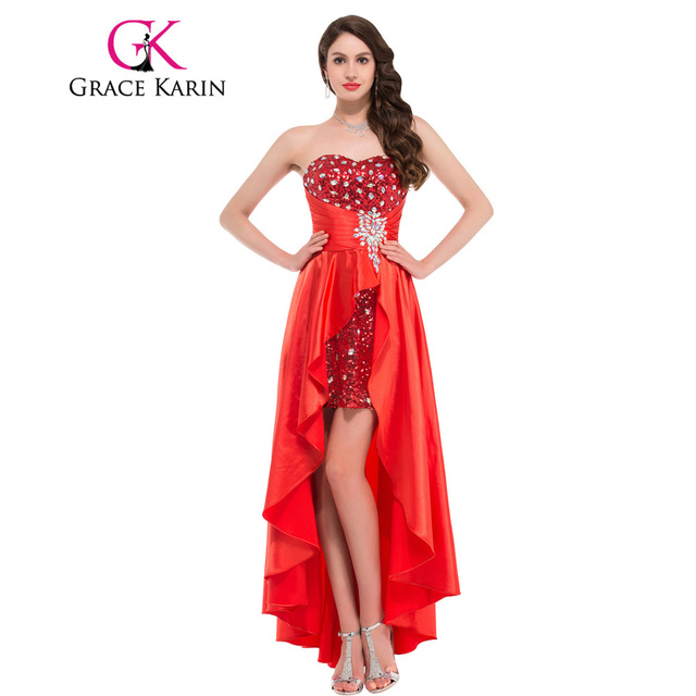 Sexy red evening gowns
