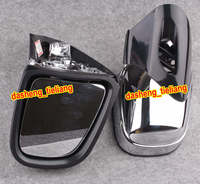 Rearview Side Mirrors For BMW K1200 K1200LT K1200M 1999 2008 Chrome Motorcycle Rear View Wing Parts AccessoriesLeft & Right