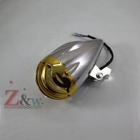 Motorcycle Chrome Headlight Headlight Lamp for Harley Davidson Sportster XL883  Dyna Wide Glide Bobber Road Kings Elctra Glide