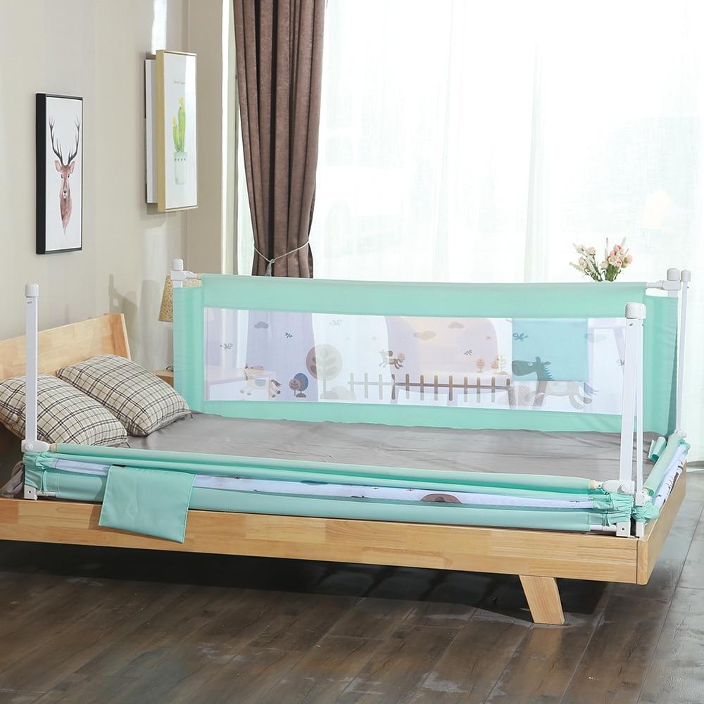 2m 1piece Newborn Baby Safety Bed Guardrail Crib Rail