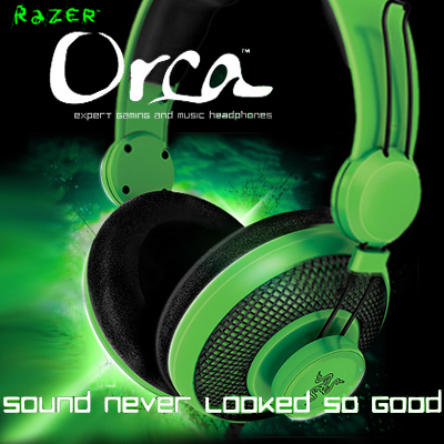 Razer Orca Gaming Headphone, Original & Brand NEW in box Free & Fast Shipping.