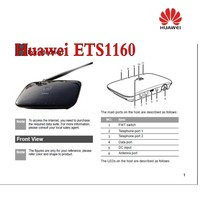 Huawei 3g ETS1160 gsm fwt/fct for make calls and receive