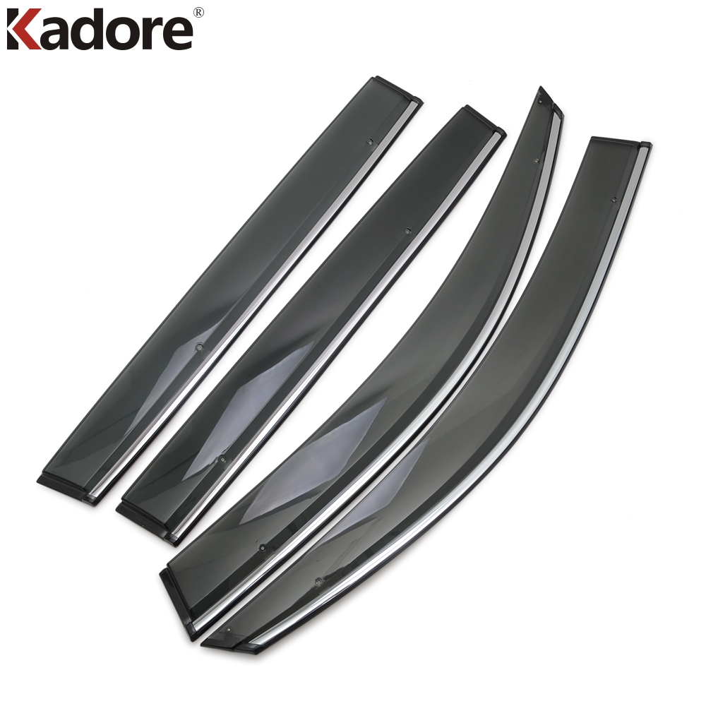 For Volkswagen VW Tiguan 2017 2018 2019 Car Window Visor Door Rain Sun Shield Side Windows Cover Trim Auto Exterior Accessories-in Awnings & Shelters from Automobiles & Motorcycles on Aliexpress.com | Alibaba Group