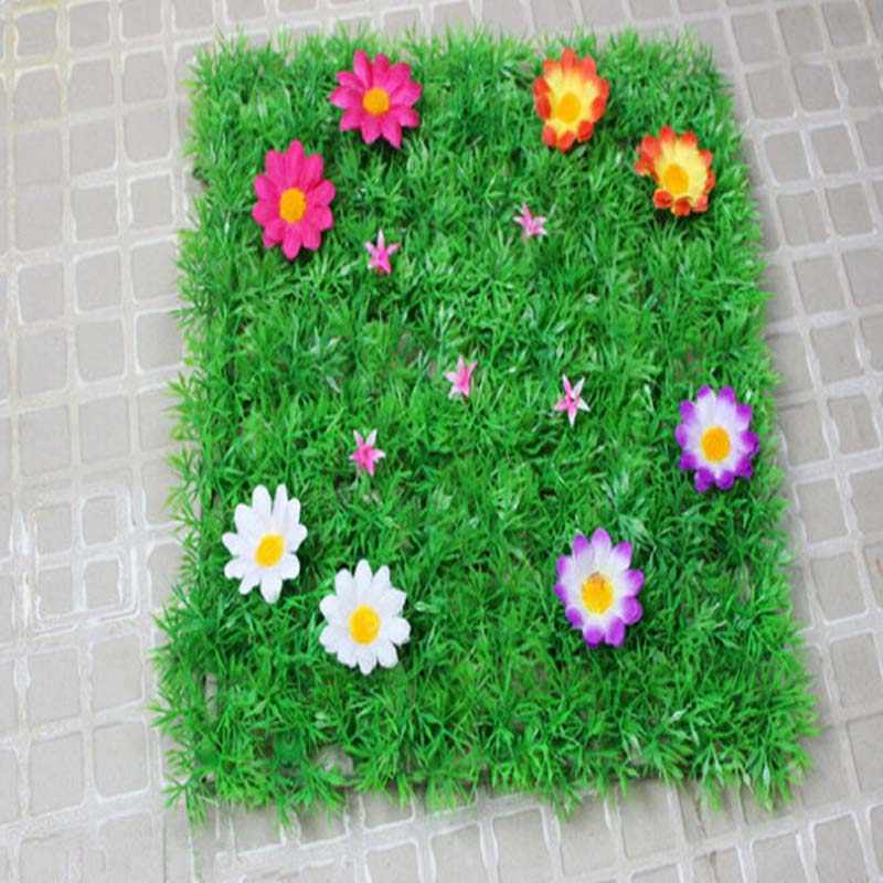 Party Table Centerpiece Decorations Grass Mats Flower Placemat Table Runner For Wedding Christmas Baby Shower Birthday New Year