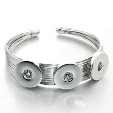 Wholesale silver or gold Women Female Jewelry Elegant silver Bangles Cuff Bracelets High Quality Pulseras Gifts 1