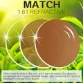 Cuota Extra para Photochromic Lente Miopía/Hipermetropía Gafas de Lectura Inteligente de Cambio de Incoloro a Marrón Lentes de Cambio de Color