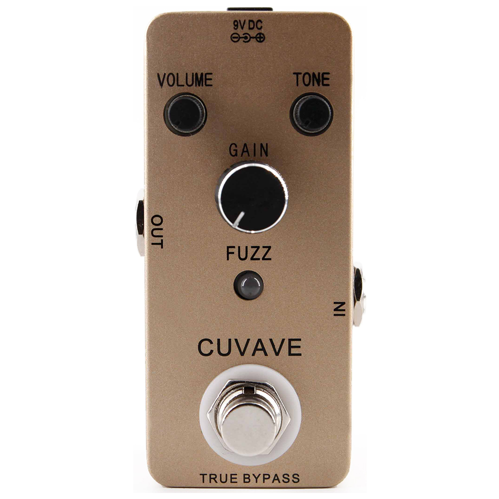 CUVAVE FUZZ Guitar Effect Pedal Vintage Old School Tone Effects Stompbox True bypass Dirty Strong Violin-like Sound image