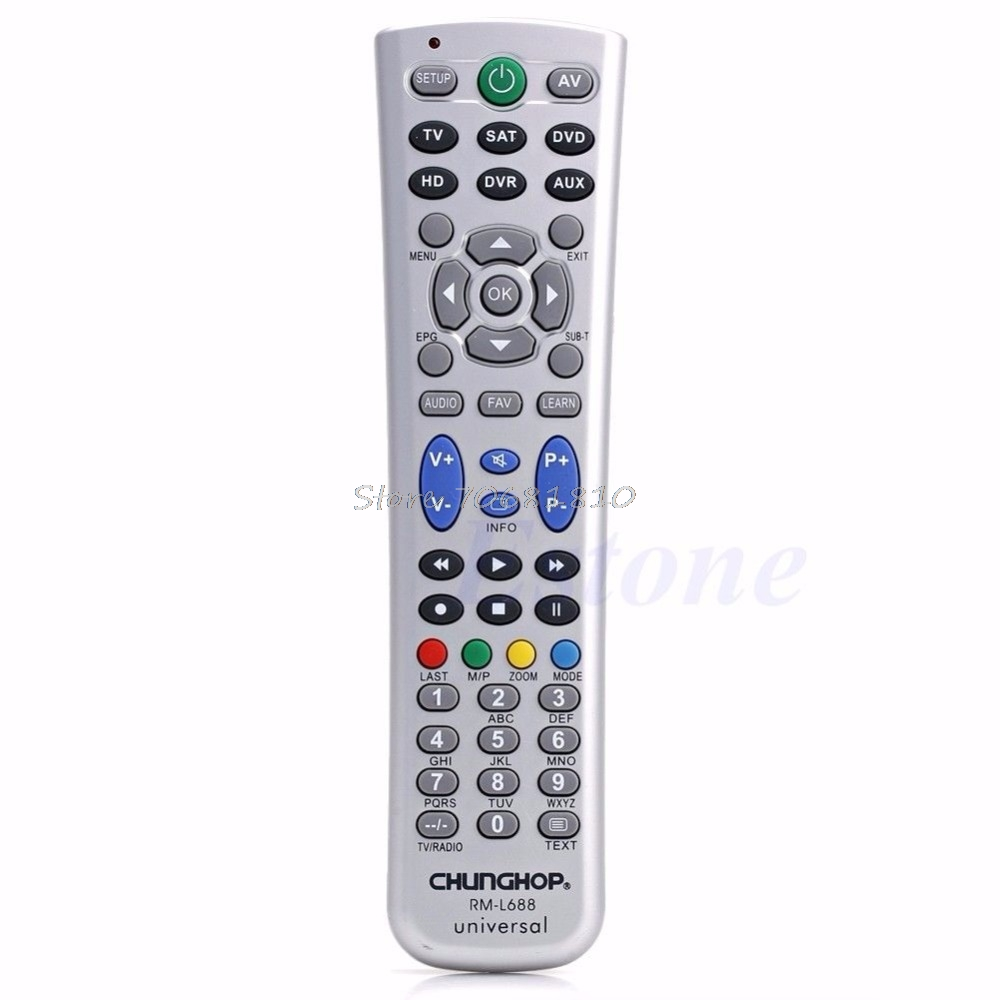Universal Smart Remote Control Controller With Learn Function For TV DVD SAT CBL Drop Shipping цена