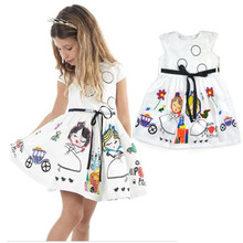 Girls dress girls clothes children tutu princess dresses for girls party kids summer dress  недорого
