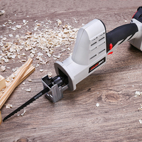 21V Portable Charging Reciprocating Saw Electric Saber Saw for Wood Mutifunctional Power Tools With Lithium Battery