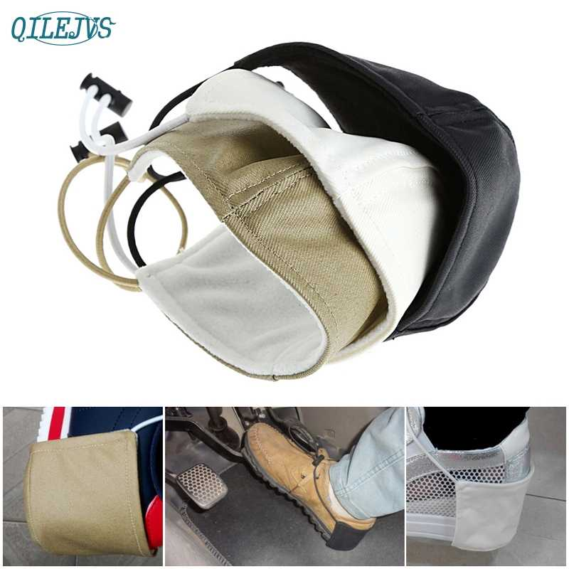 Hot Selling New Fabric Car Driving Prevent Wear Shoes Heel Protection Cover jul24