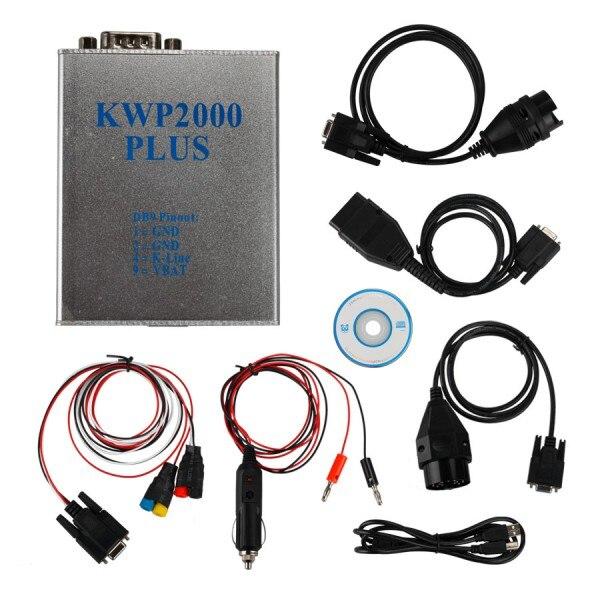 Prix pour KWP2000 Plus OBDII OBD2 ECU Chip Tuning Outil KWP2000 ECU Plus Flasher Intelligent Remappage Décodeur