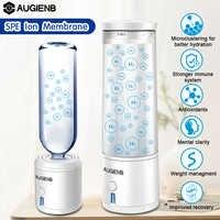 AUGIENB 300 мл SPE PEM водородный ионизатор бутылок генератор энергии чашка BPA-free здоровый антивозрастной перезаряжаемый подарок