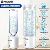 AUGIENB 300ml SPE PEM Hydrogen Water Bottle Ionizer Generator Maker Energy Cup BPA free Healthy Anti Aging Rechargeable Gift