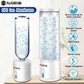 AUGIENB 300ml SPE PEM botella de agua de hidrógeno ionizador generador taza de energía BPA saludable antienvejecimiento recargable regalo
