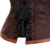 Deshuesado acero de Cintura de moda Corte Corsé de Underbust de La Talladora Del Corsé de Las Mujeres Lencería Sexy Erótica Top Corpiño Ramillete Vestido Bustier