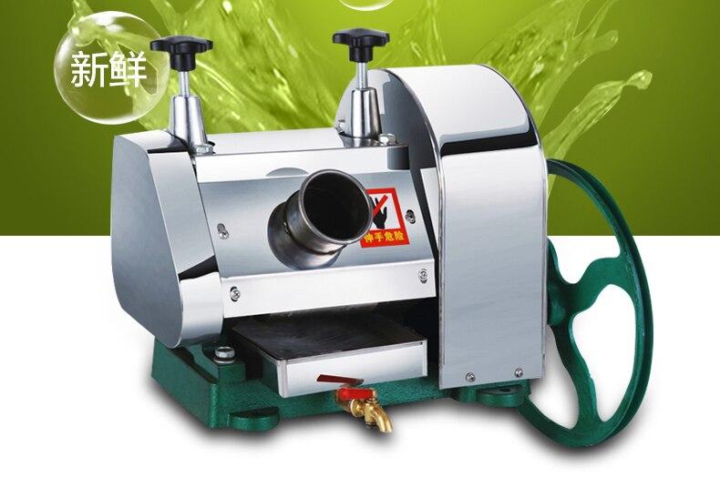 LC SY01 desktop aço inoxidável Hand held máquina de cana de açúcar, cana espremedor de suco, triturador de cana, espremedor de cana 1pc - 4