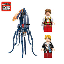 Enlighten 1305 Legendary Pirates Mechanical Squid Undersea exploration Minifigure 2016 Assemble Building Block   Toys