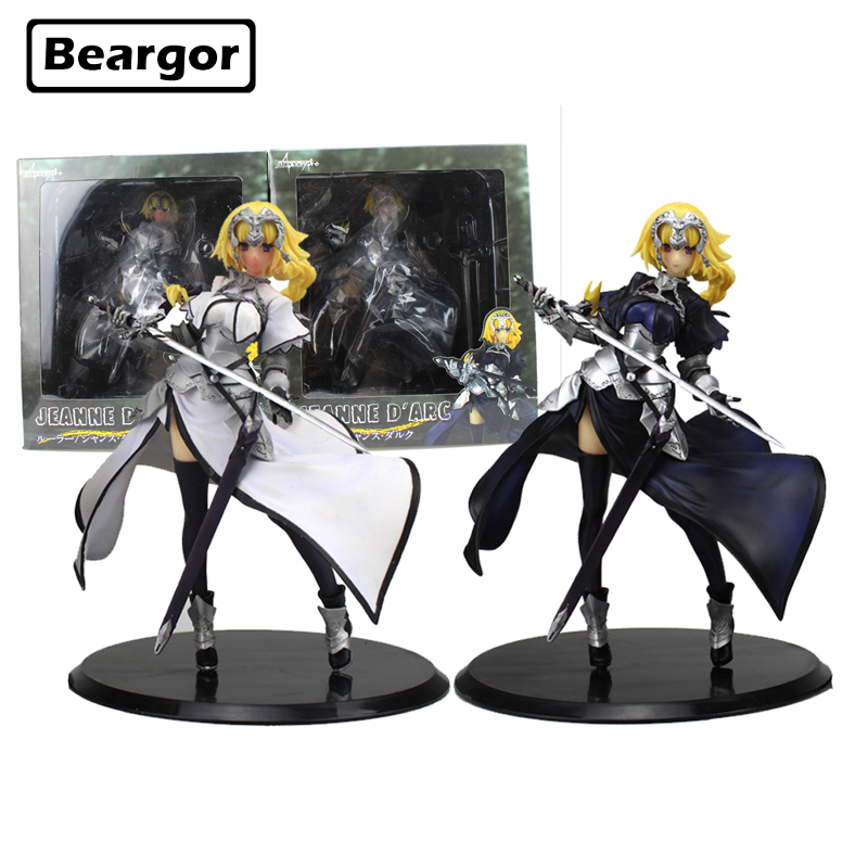 8 inch Fate Apocrypha Joan of Arc Saber Lily Sword Ver. Jeanne D'Arc Boxed 20cm PVC Anime Action Figure Model Doll Toys Gift