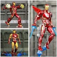 Marvel S.H.Figuarts 6 Iron Man MK50 MK85 Action Figure Ironman Mark 50 85 Tony Stark SHF Avengers Endgame Infinity War Doll Toy