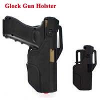 Étui de ceinture pistolet rapide militaire pour Glock 17 19 22 23 31 32 pistolet de tir pistolet à main équipement de chasse étui de ceinture